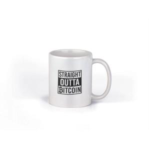 Kubek Straight Outta Bitcoin