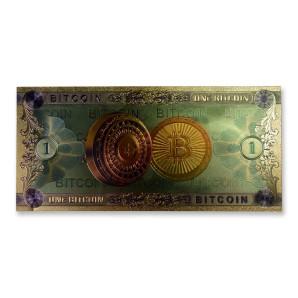 Banknot 1 BITCOIN