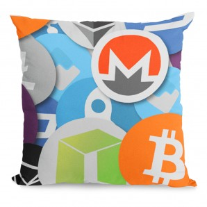 Mix Crypto Pillow