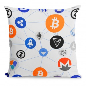 Bitcoin Pillow mix of...
