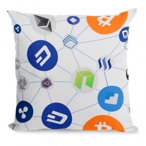 Bitcoin pillow mix of...