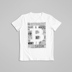 Big Bitcoin t-shirt