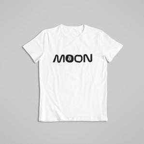 Koszulka Bitcoin Księżyc