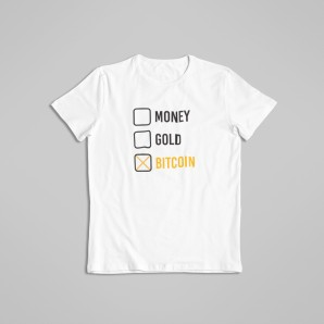 Koszulka 3X Bitcoin