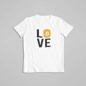 Koszulka Bitcoin Love