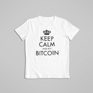 Koszulka Bitcoin Keep Calm