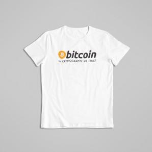 Koszulka Bitcoin Cryptography