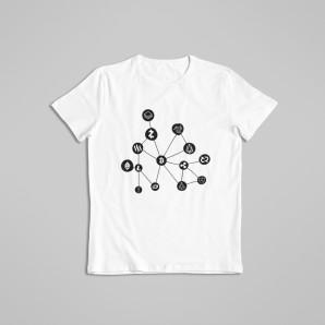 Koszulka Sieć Cryptomix