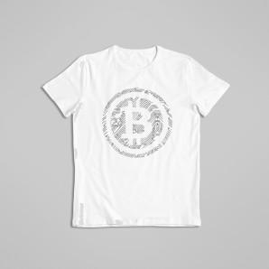 Koszulka Bitcoin Fingerprint