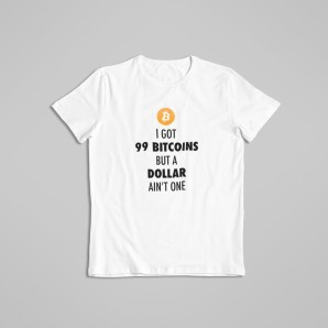 99 Bitcoins t-shirt