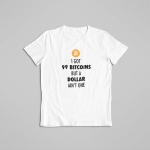 Koszulka 99 Bitcoins