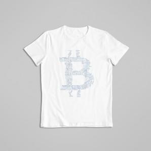 Koszulka Bitcoin Szary