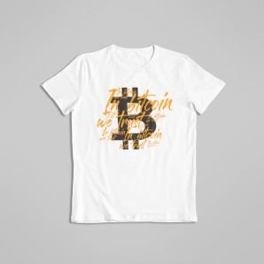 Koszulka Bitcoin kwestią Wiary