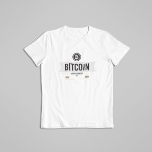 Cryptocurrency Bitcoin T-shirt