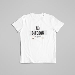 Koszulka Bitcoin Kryptowaluty