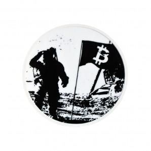 3x Naklejka Bitcoin Hiroshima