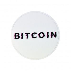 3x Naklejka Bitcoin