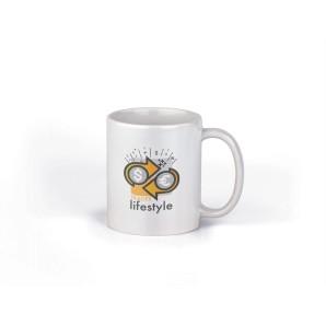 My Lifestyle Yellow Mug