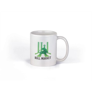 Green Bull Market Mug