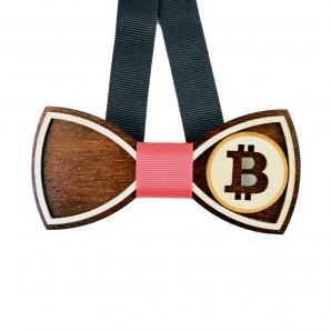 Drewniana Mucha Bitcoin