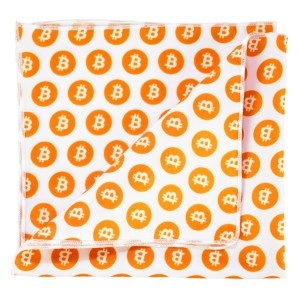 Bitcoin pocket square