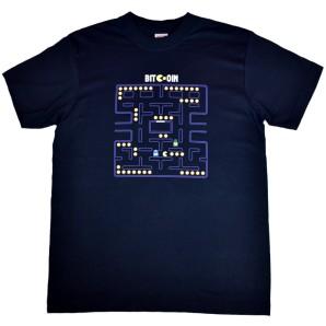 Koszulka Bitcoin Pac-Man