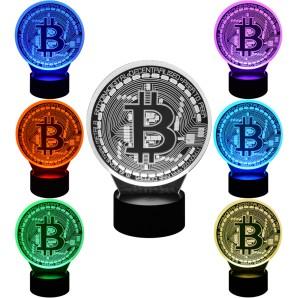 Bitcoin Lamp