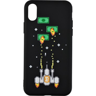Etui na telefon BITCOIN SPACE INVADERS Apple