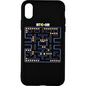 BITCOIN PAC-MAN Apple phone...