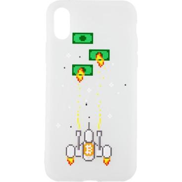 Etui na telefon BITCOIN SPACE INVIDERS Xiaomi