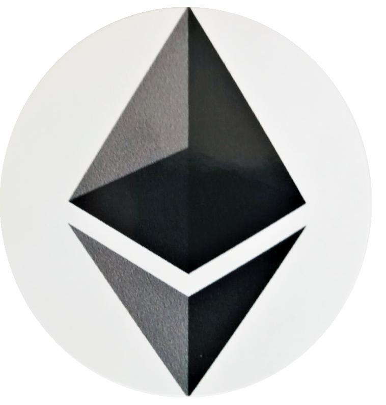 Naklejka Ethereum