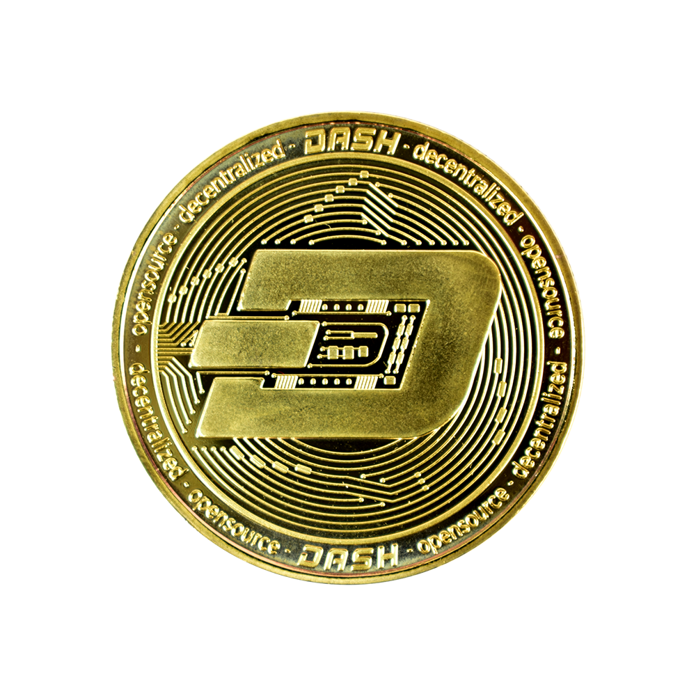 Dash Collector coin gold