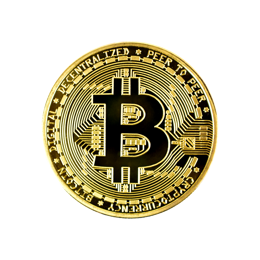 Bitcoin Collector coin gold