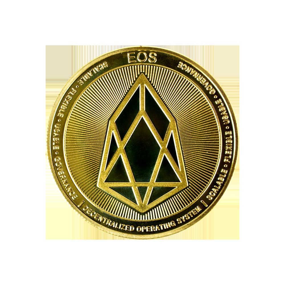 Moneta kolekcjonerska EOS Złota