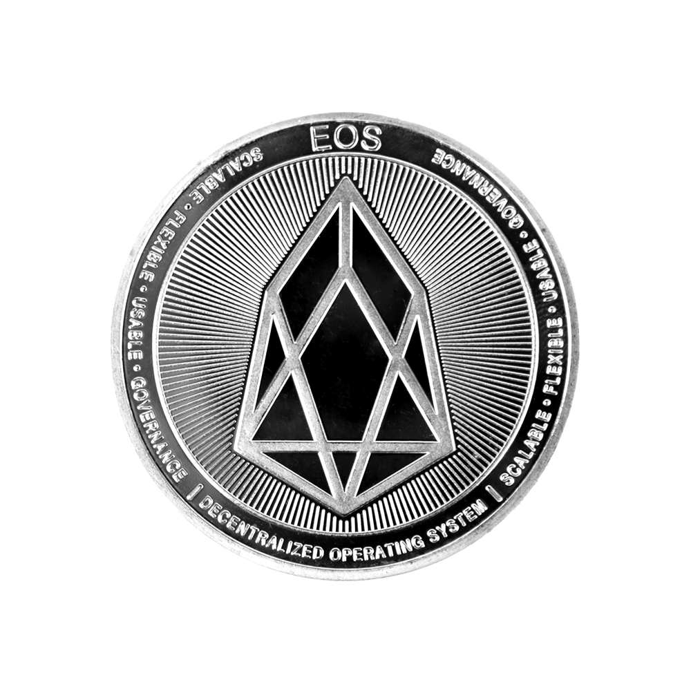 EOS Collector coin silver