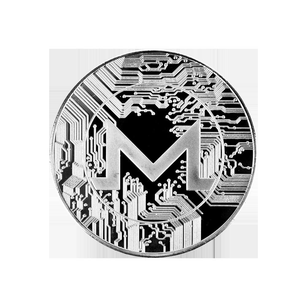 Moneta kolekcjonerska Monero Srebrna