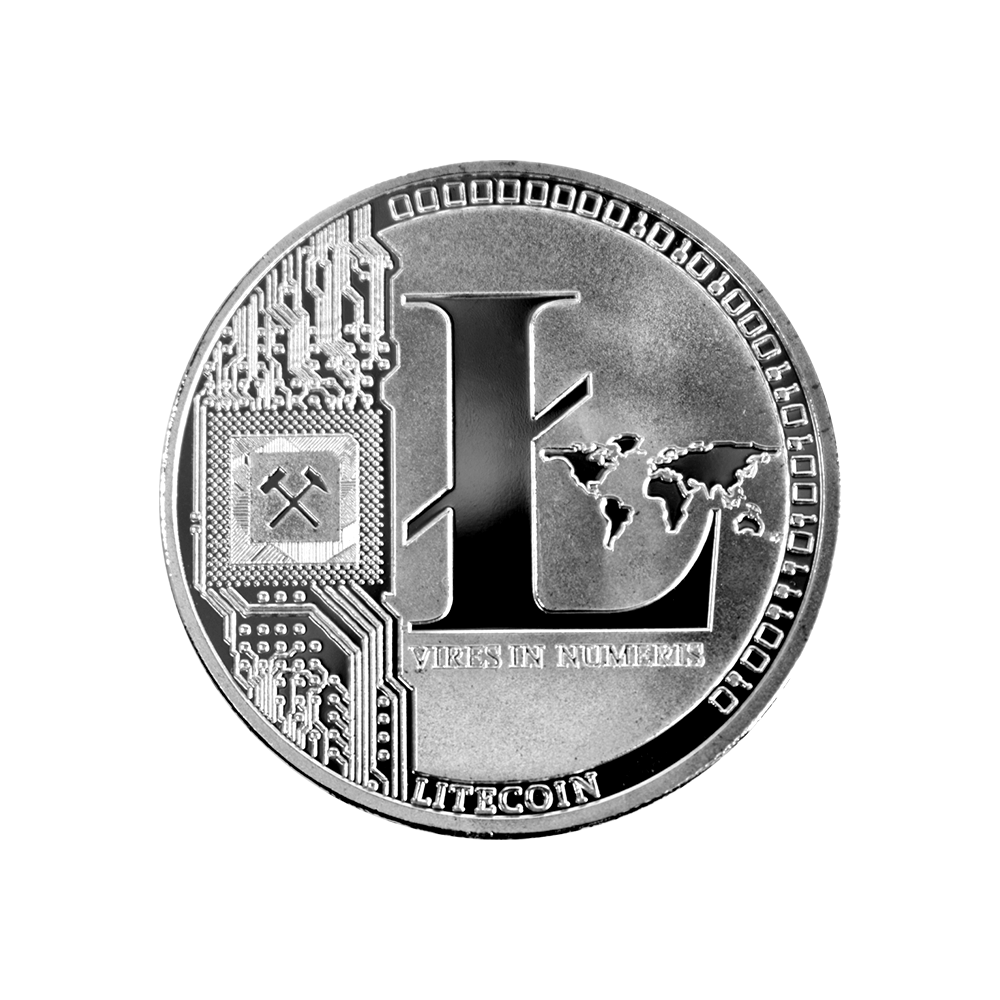 Litecoin Collector coin silver