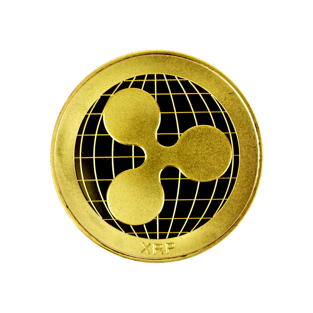 Moneta kolekcjonerska Ripple Złota
