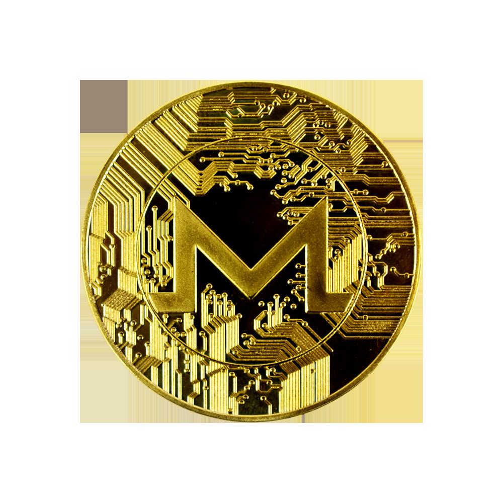 Moneta kolekcjonerska Monero Złota