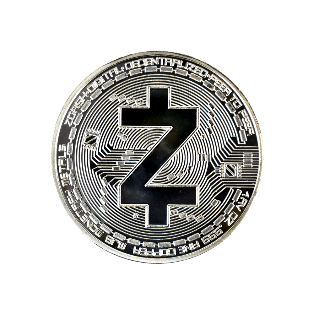 ZCash Collector coin silver
