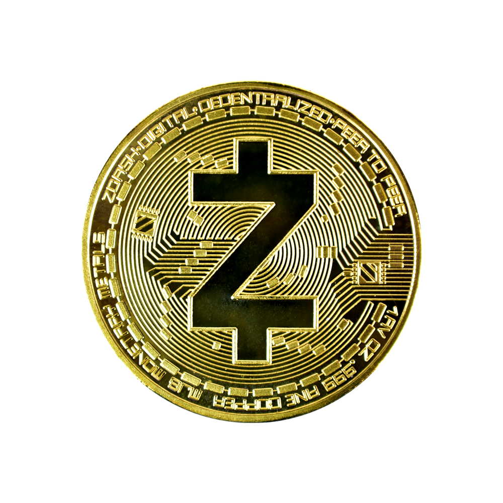 Ten collectors coins ZCash gold
