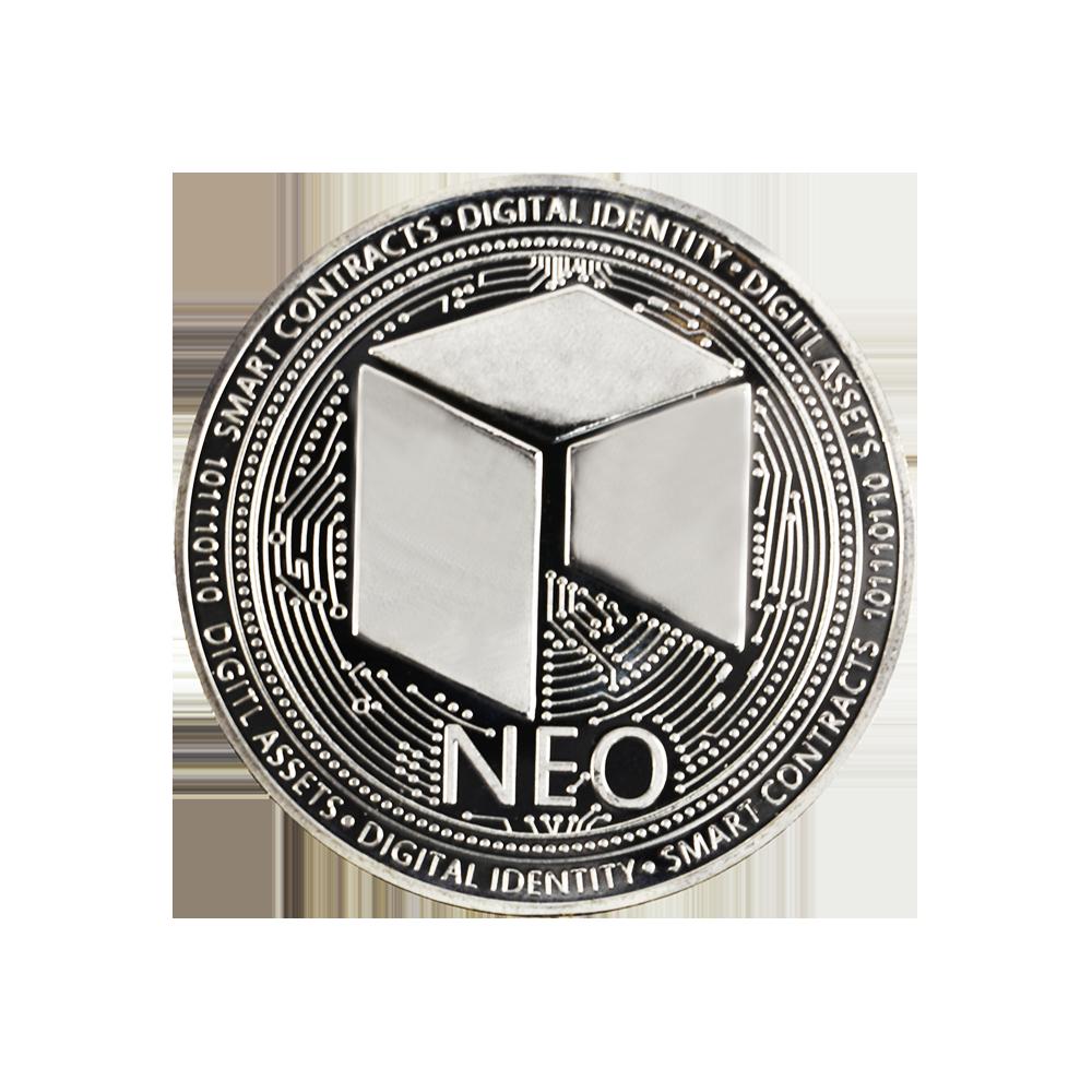 Moneta kolekcjonerska NEO SREBRNA