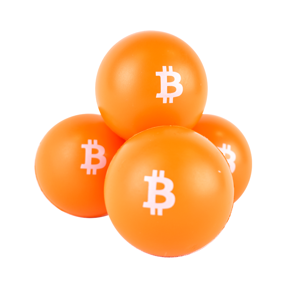 Piłeczka Antystresowa Bitcoin Zestaw
