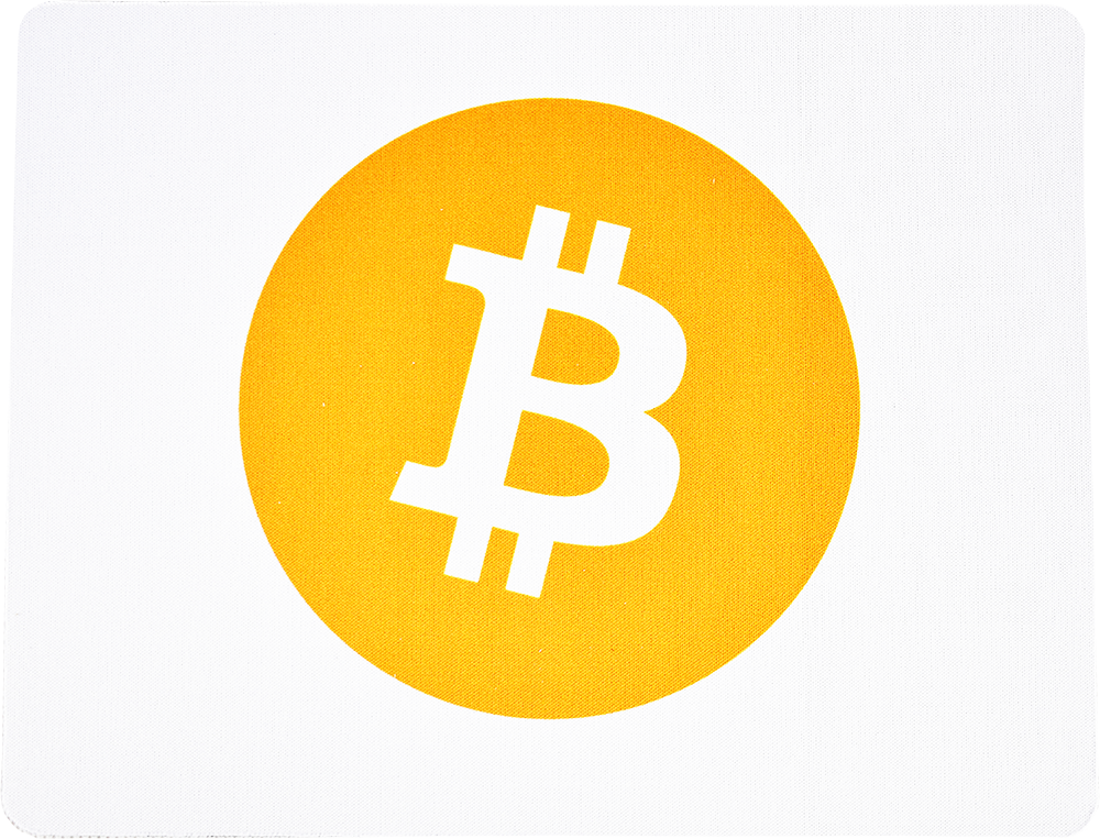 Podkładka pod mysz Bitcoin