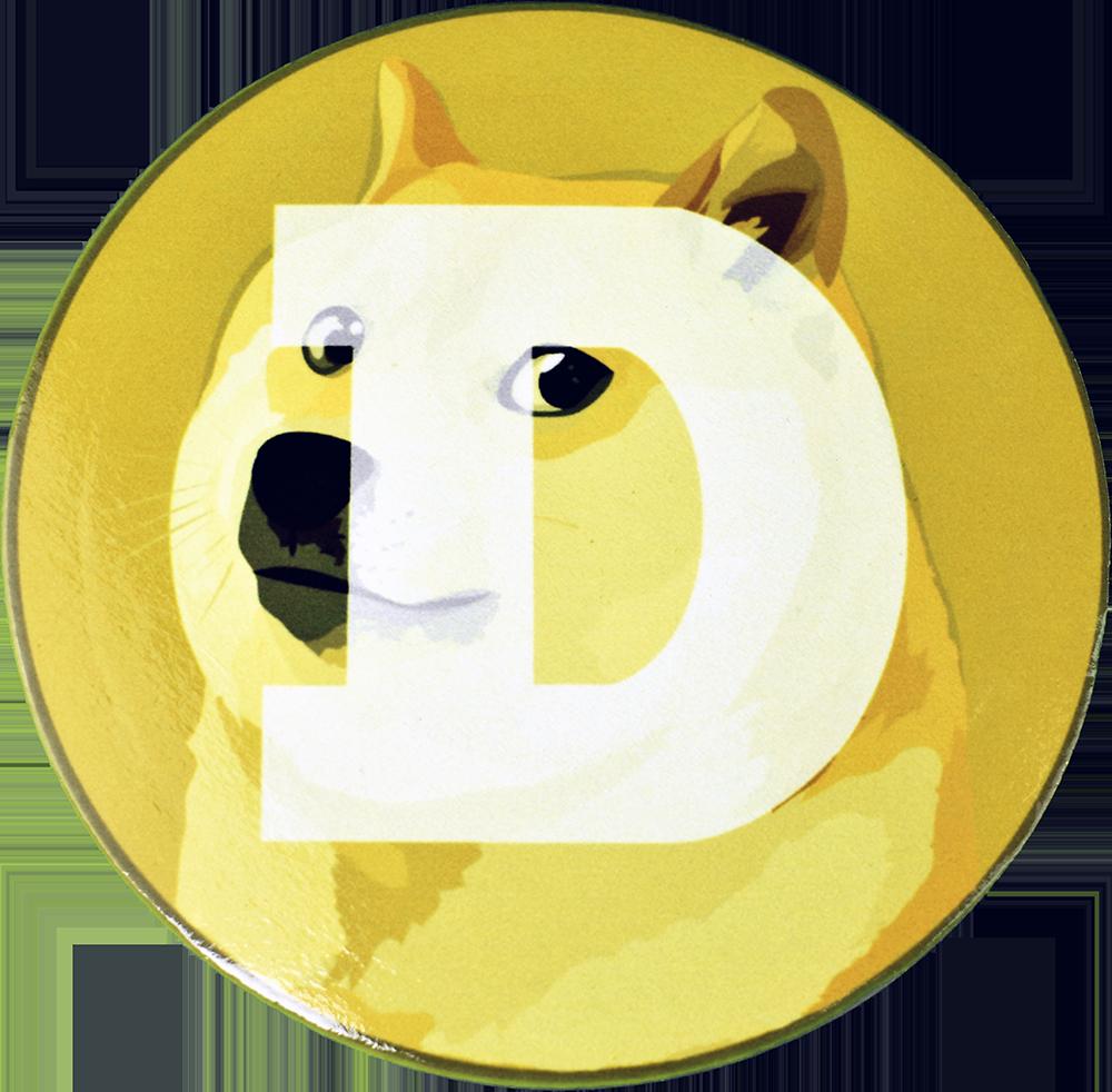 Podkładka pod kubek Dogecoin