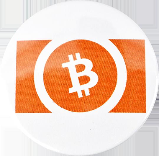 Przypinka aluminiowa Bitcoin Cash