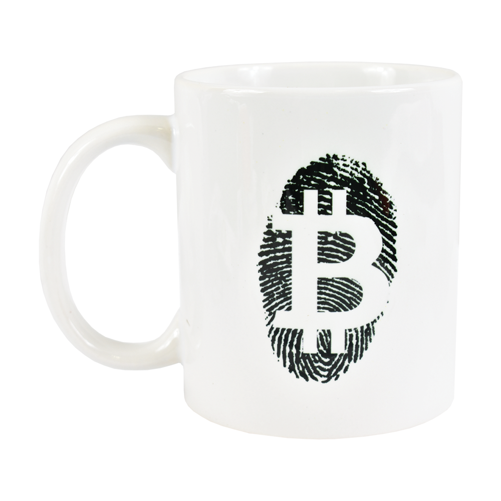 Kubek Bitcoin Fingerprint