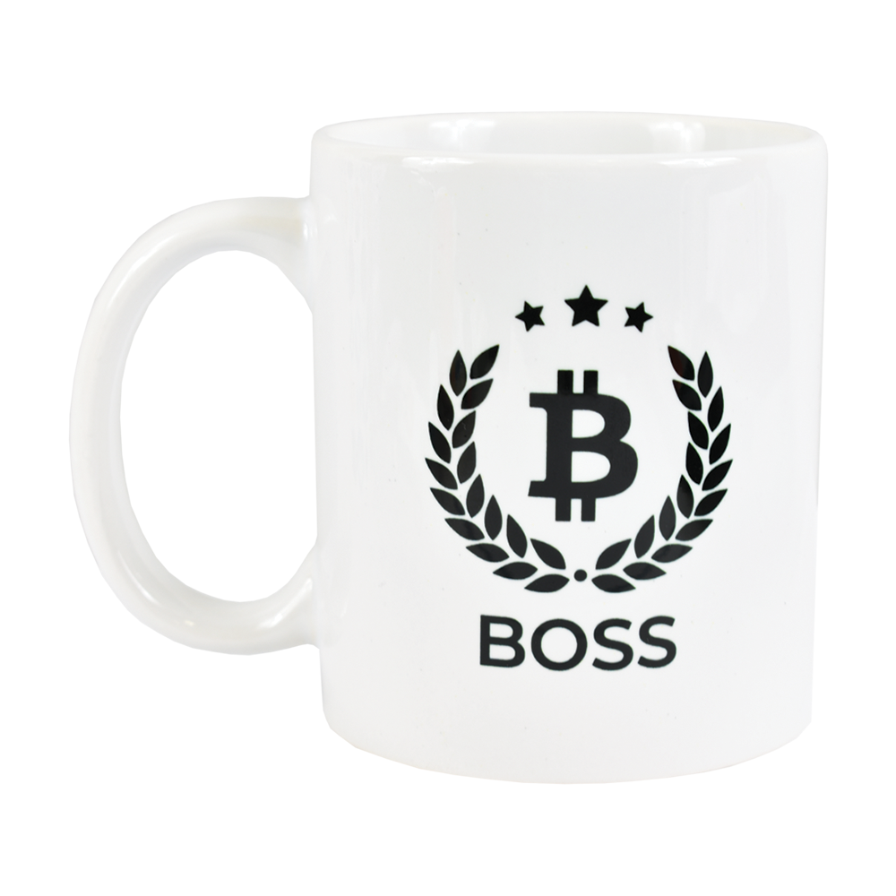 Kubek Bitcoin Boss