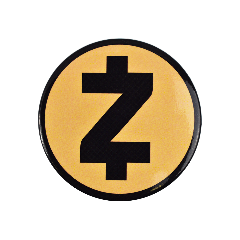 Zcash fridge magnet