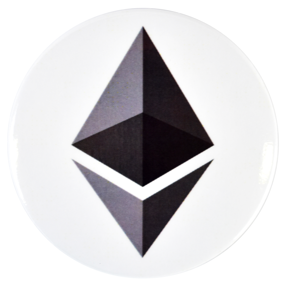 Ethereum fridge magnet
